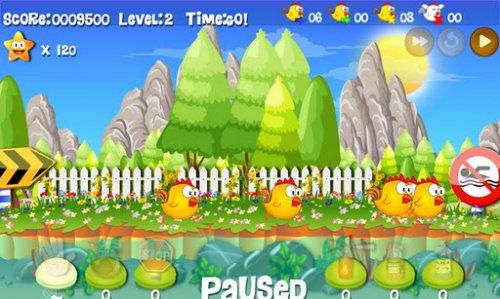 Chickens Quest - Спасать птенцов