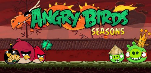 Angry Birds Seasons: Year of the Dragon - Год Дракона