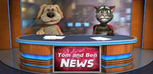 Talking Tom & Ben News - Том и Бен телеведущие