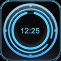 Digital Clack Disk - Виджет Часов (Диск)