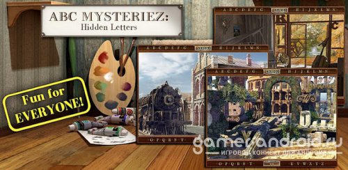 ABC Mysteriez: Hidden Letters - Поиск букв