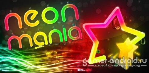 Neon Mania - рисуем рукой
