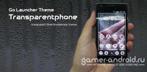 Transparentphone Golauncher