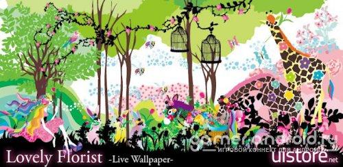 Lovely Florist LiveWallpaper