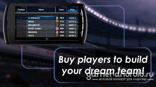 Pro Evolution Soccer 2012 - Футбол для Android