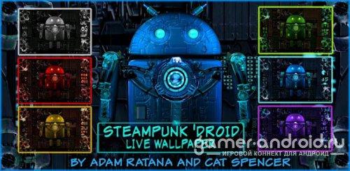 Steampunk Droid Live Wallpaper