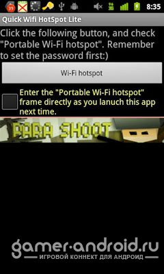 WiFi HotSpot / WiFi Tether