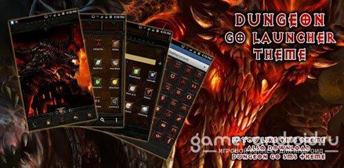 Diablo Dungeon GoLauncher Theme