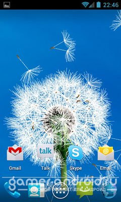 Dandelion LWP - Одуванчик на Андроид