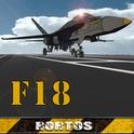 F18 Carrier Landing - симулятор посадки самолета