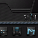 Seven Go Launcher EX Theme