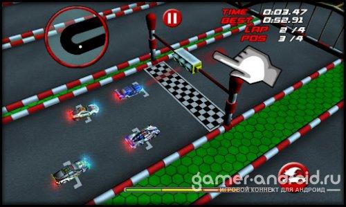 RC Mini Racing - гонки радиоуправляемых машинок