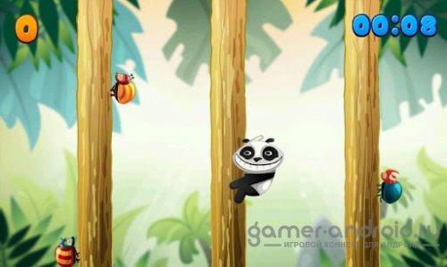 Panda vs Bugs HD-панда против жуков