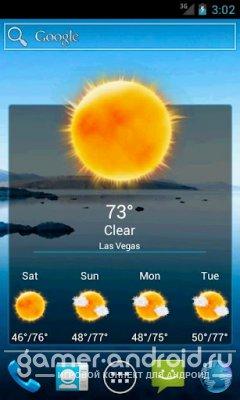 Weatherlove - Часы и погода