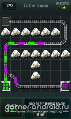 Trainyard - Цветные поезда