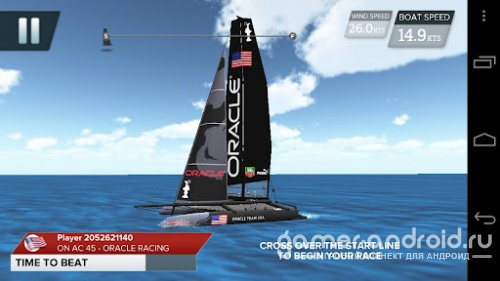 America's Cup - Speed Trials-гонки на катамаранах