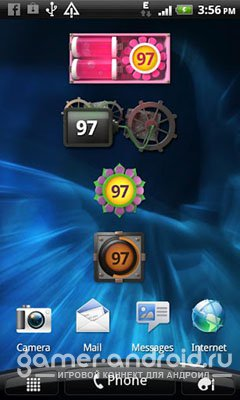 Animated Battery Widget