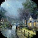 City Raining live wallpaper - Город дождя