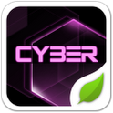 Cyber Pink GOLauncher EX Theme