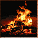 HD fire Live Wallpaper