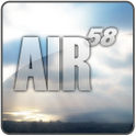 AIR 58 Go Launcher EX Theme
