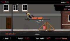 BMX Bike - On the Street - Трюки на велосипеде