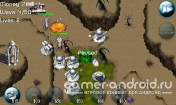 Nexus Defense: Desert Storm - Tower Defense