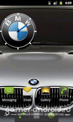 BMW Clock - Виджет часов