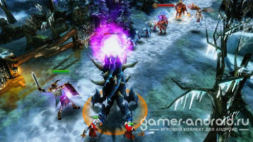 Heroes of Order & Chaos - DOTA от Gameloft