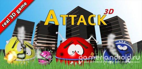 UFO Attack 3D Live