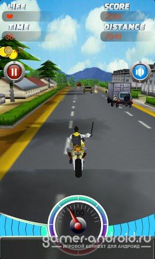 Crazy Violence moto