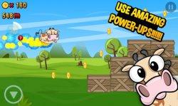 Run Cow Run - Спасите летающую корову!