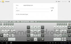 FloatNSplit Tablet Keyboard