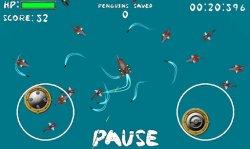 SharQ II - Спасите пингвинов от акул!