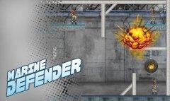 Marine Defender - Сноси головы