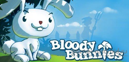 Bloody Bunnies - Помогите кролику собирать морковь!