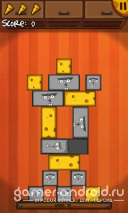 Cheese Tower - Спасите сыр от котов!