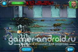 Soldier vs Aliens - Защитите базу от пришельцев