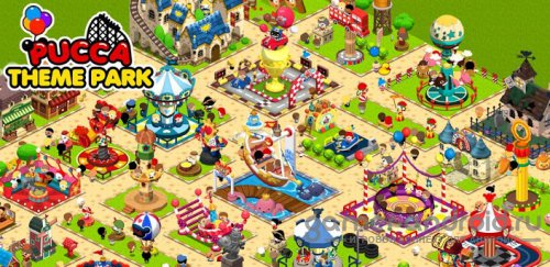 Pucca Theme Park - Строим парк аттракционов