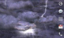Thunderstorm Free Live Wallpaper