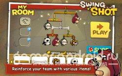 Swing Shot - Сбиваем зверюшек с веток!