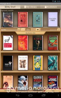 eReader Prestigio - читалка книг