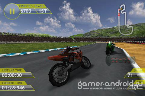 Motorbike gp 3D - реалистичные гонки