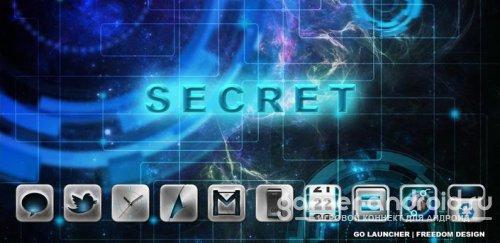 Secret GO LauncherEX Theme - тема для Go Launcher
