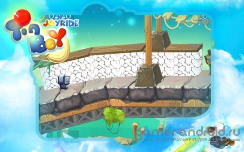 Tinboy Joyride- приключения робота