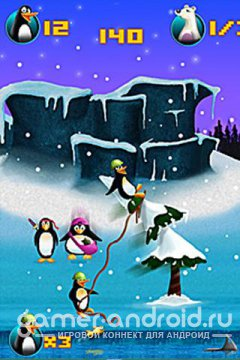 Crazy Penguin Catapult HD - породия на Angry Birds