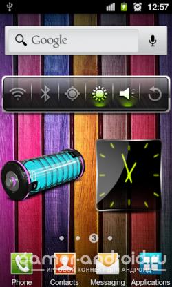 3D Design Battery Widget R2 - виджет батареи