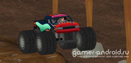 3D Monster Truck Jam TOP GAME