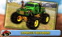 3D Monster Truck Driving