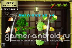 Fruit Samurai 3D - ( породия Fruit Ninja )